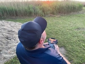 shooting drone footage in outer banks north carolina